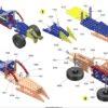 MERKUR Set Construcții 10 Modele - Extreme Buggy (M1.1)