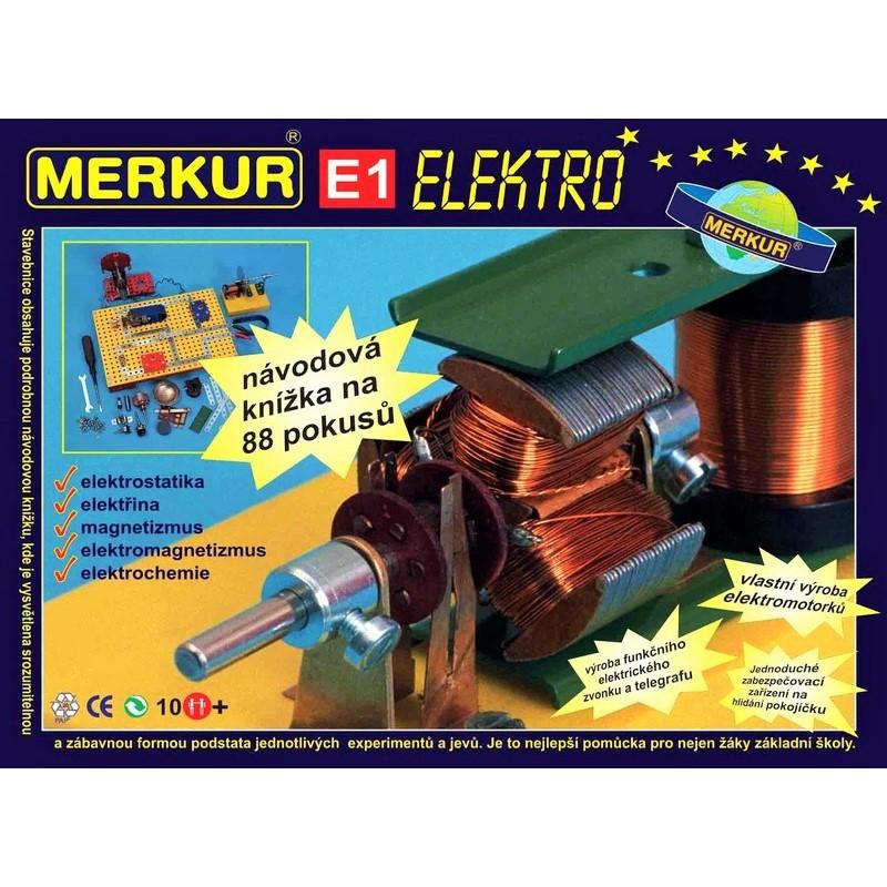 MERKUR Set 88 Experimente - Electricitate și Magnetism (E1)